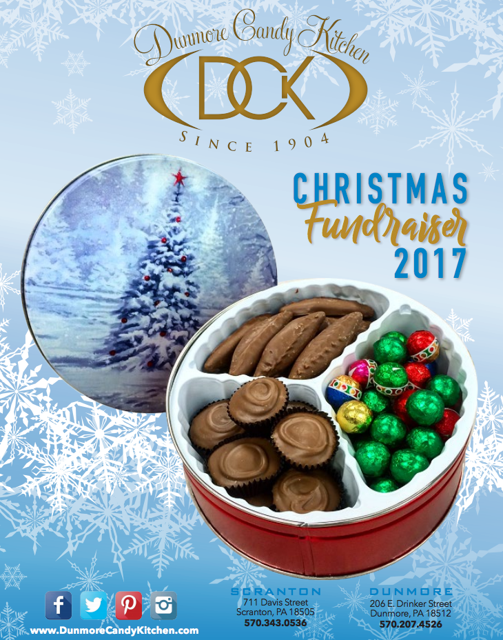 Christmas Fundraiser Catalog.Fundraising Dunmore Candy Kitchen